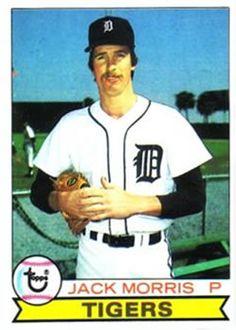 1979 Topps 251 Jack Morris Detroit Tigers baseball card