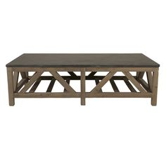 Orient Express Furniture Blue Stone Coffee Table