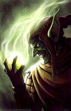 Roderick Kingsley/Hobgoblin I/Powers-Superhuman Physical Attributes, Goblin Themed Weapons