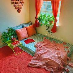 Room Design Bedroom, Home Room Design, Home Decor Bedroom, Home Interior Design, Living Room Designs, India Home Decor, Ethnic Home Decor, Indian Room Decor, Pinterest Room Decor