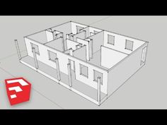 SketchUp 8 Lessons: Advanced House Building - YouTube