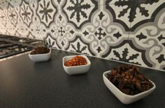 1000 images about cuisine on pinterest exposed brick - Credence cuisine en carreaux de ciment ...