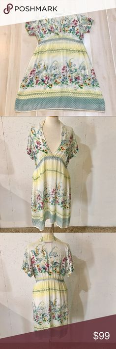 Selling this 1hr Sale! Johnny Was Floral Dress with Pockets  M on Poshmark! My username is: tevelyn. #shopmycloset #poshmark #fashion #shopping #style #forsale #Johnny Was #Dresses & Skirts
