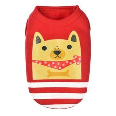 Cute Pet Dog Clothes For Small Dogs Soft Pet T shirt Vest Summer Puppy Cat Clothing Chihuahua Yorkie Clothes Dog Accessories