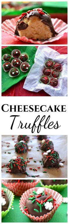 Chocolate Covered Cheesecake Truffles | No Bake Cheesecake Truffles ...