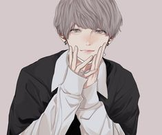 Cool Anime Guys, Handsome Anime Guys, Cute Anime Boy, Anime Art Girl, Manga Art, Anime Oc, Manga Anime, Best Anime Drawings, Anime Sketch