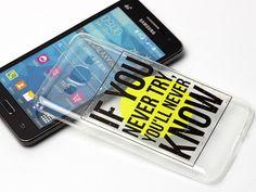 Inspirujący i motywujący tekst na Twoim etui do Samsunga Galaxy Grand Prime:)