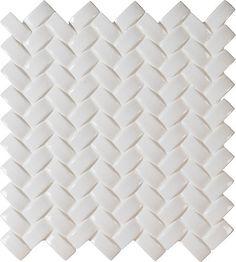 Avec ces carreaux de mosaïque de céramique pour murs Whisper White à chevrons arqués montés sur filet de 12 po x 12 po de MSI Stone ULC, cest facile dajouter une touche contemporaine à votre décor. Ces attrayants carreaux se caractérisent par des bandes arquées arrangées en chevrons et sont montées sur filet de 12 po x 12 po, ce qui facilite vraiment leur installation. Les élégantes nuances de blanc de cette céramique lustrée créent un motif à relief pour divers projets de salle de bain, de…