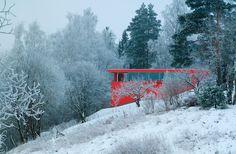 Un Faro de Ideas: RED HOUSE, NORUEGA