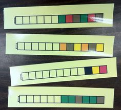 Unifix Cubes Patterns Task Cards:  Free Download from HeidiSongs!