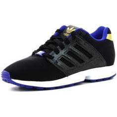 adidas zx flux 2.0 dames sneakers (Zwart)