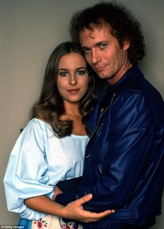 Young love: As she starred on the programme since 1977, she happened to star in the highest-rated hour in soap opera history during her 1981 wedding episode between characters Luke and Laura, as her on-screen love-interest was played by Anthony Geary...