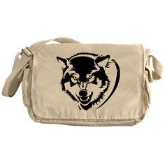 #Wolf #Tribals - Wolf Tribals #Messenger #Bag > Wolf > #pASob-dESIGN http://www.cafepress.com/pasobdesign.915297944