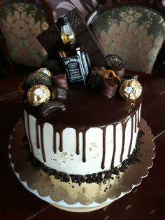Fondant, Birthday Cake, Desserts, Fondant Icing, Birthday Cakes, Deserts, Dessert, Postres, Gum Paste
