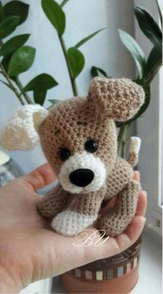 Amigurumi Sweet Dog Free Pattern