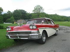Ford : Other 500 1958 Ford Fairlane 500 - http://www.legendaryfinds.com/ford-other-500-1958-ford-fairlane-500/