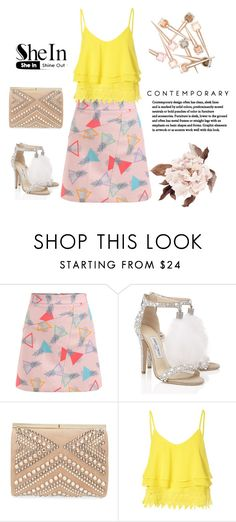 """""""Untitled #34"""" by kmen-s ❤ liked on Polyvore featuring Jimmy Choo and Glamorous"""