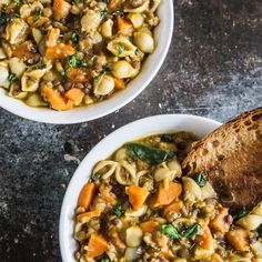 Super hearty Lentil and Vegetable Soup