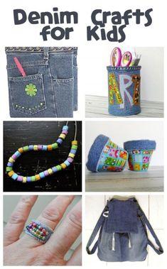 Denim Crafts for Kids & Teens
