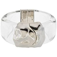 Alexis Bittar Modernist Transparent Bracelet