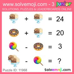 Solvemoji - Free teaching resources - Emoji math puzzle, great as a primary math starter, or to give your brain an emoji game workout. Emoji Games, Math Games, Maths Starters, Primary Maths, Free Teaching Resources, Maths Puzzles, Brain Teasers, Home Schooling, Quizzes