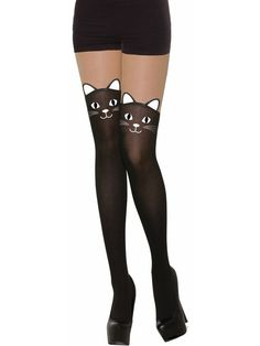 b29dbbf3304 Black Cat Stockings - Adult