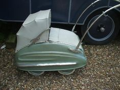 Bakelite Museum, Williton Picture: Art deco pram with streamlined baby - Check out TripAdvisor members' 337 candid photos and videos.