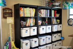 Awesome sewing room organizing & makeover!!!