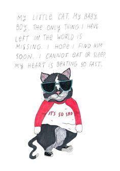 """it's so sad"" #cats"