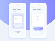 Automated Hack - Automated Receipt Scanner designed by Andrea Hock for Adobe XD. Connect with them on Dribbble; Android App Design, App Ui Design, User Interface Design, Branding Design, Id Scanner, Daily Hacks, Mobile Ui Design, Mobile App Ui, Brand Design