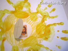 monstrance craft with Jesus