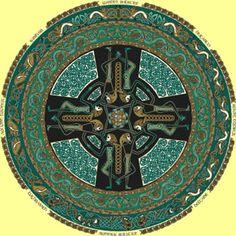 Roda Celta Vikings, Celtic Culture, Celtic Art, Folklore, Mythology, Coloring Books, Scandinavian, Medieval, Wiccan Crafts