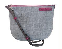 Grey messenger bag, crossbody bag with genuine leather adjustable strap,pink zipper shoulder bag, black small bag with leather belt,