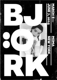 graphism musical ョ björk for moma 20I5 (design modern noir et blanc) black and white