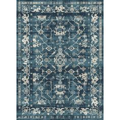 Found it at Wayfair - Sedhiou Handmade Blue Area Rug