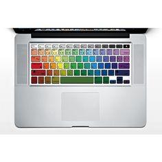 Rainbow Style Macbook Keyboard skin decal sticker