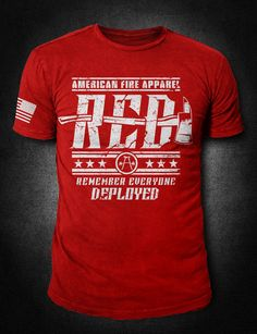 Looking for police apparel, fireman apparel, or perhaps a military style shirt for you or your loved one? It's all here at American Fire Apparel. Firefighter Apparel, Firefighter Gifts, Cool T Shirts, Tee Shirts, Tees, Military Style Shirts, Police Outfit, Tactical Shirt, Remember Everyone Deployed
