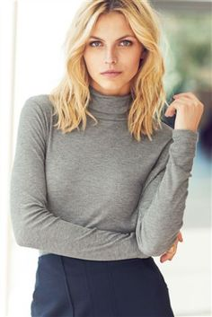 Buy Rib Roll Neck Top from the Next UK online shop
