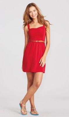 Ruched Front Dress @Abigail Rodenbeck