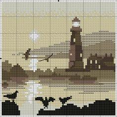Cross Stitch Sea, Cross Stitch Bookmarks, Cross Stitching, Cross Stitch Embroidery, Cross Stitch Patterns, Embroidery Patterns, Hand Embroidery, Pixel Art, Sheep Tattoo