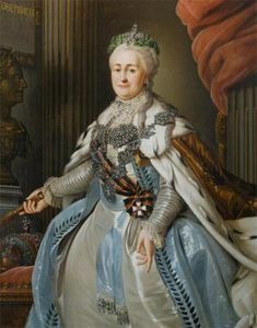 Portrait of Empress Catherine II (Catherine the Great) | artist unknown | Russia | early 19th century | oil on canvas | Kremlin State Historical & Cultural Museums