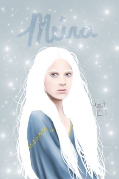 This here is Meira from Snow like Ashes, i really love Sara Raasch's work and i cant wait for the next book so while I find another book to transfer to I'm taking my time and making some fan art :)