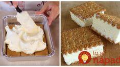 Studený koláč bez pečenia, lepší ako zmrzlina: Deti vyhlásili, že chutí úplne ako ruská zmrzlina z obchodu! Tiramisu, Waffles, Bread, Breakfast, Ethnic Recipes, Food, Meal, Essen, Waffle