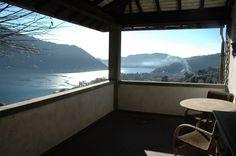 Cernobbio view from detached villa terrace