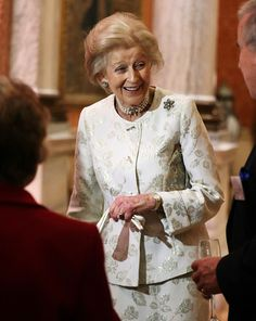 Princess Alexandra is seen during a reception to celebrate the patronages of the Princess, in the year of her 80th birthday at Buckingham Palace on November 29, 2016 in London, England.