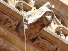 Gargoyles on the Cathedral of Oviedo - Spain