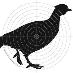 100 x 14cm Air Rifle Shooting Gun Targets 4 x Designs | eBay