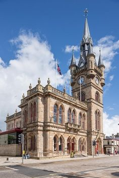 A Heavy 3 slate roof over the Renfrew Town Hall (UK) | #architecture #restoration