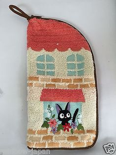 Kiki's Delivery Service Zipper Towel For Pen,Make Up Pouch Studio Ghibli 06273