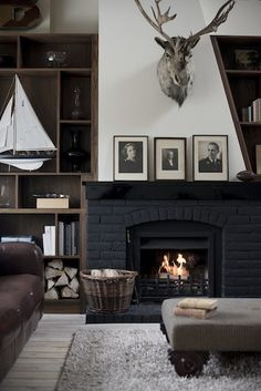Georgian Stable - Baldwin Harris - Fireplace